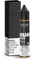 VGOD Salt Cubano Black